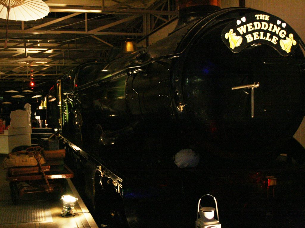 Uplighting Hire - Buckinghamshire Railway Centre