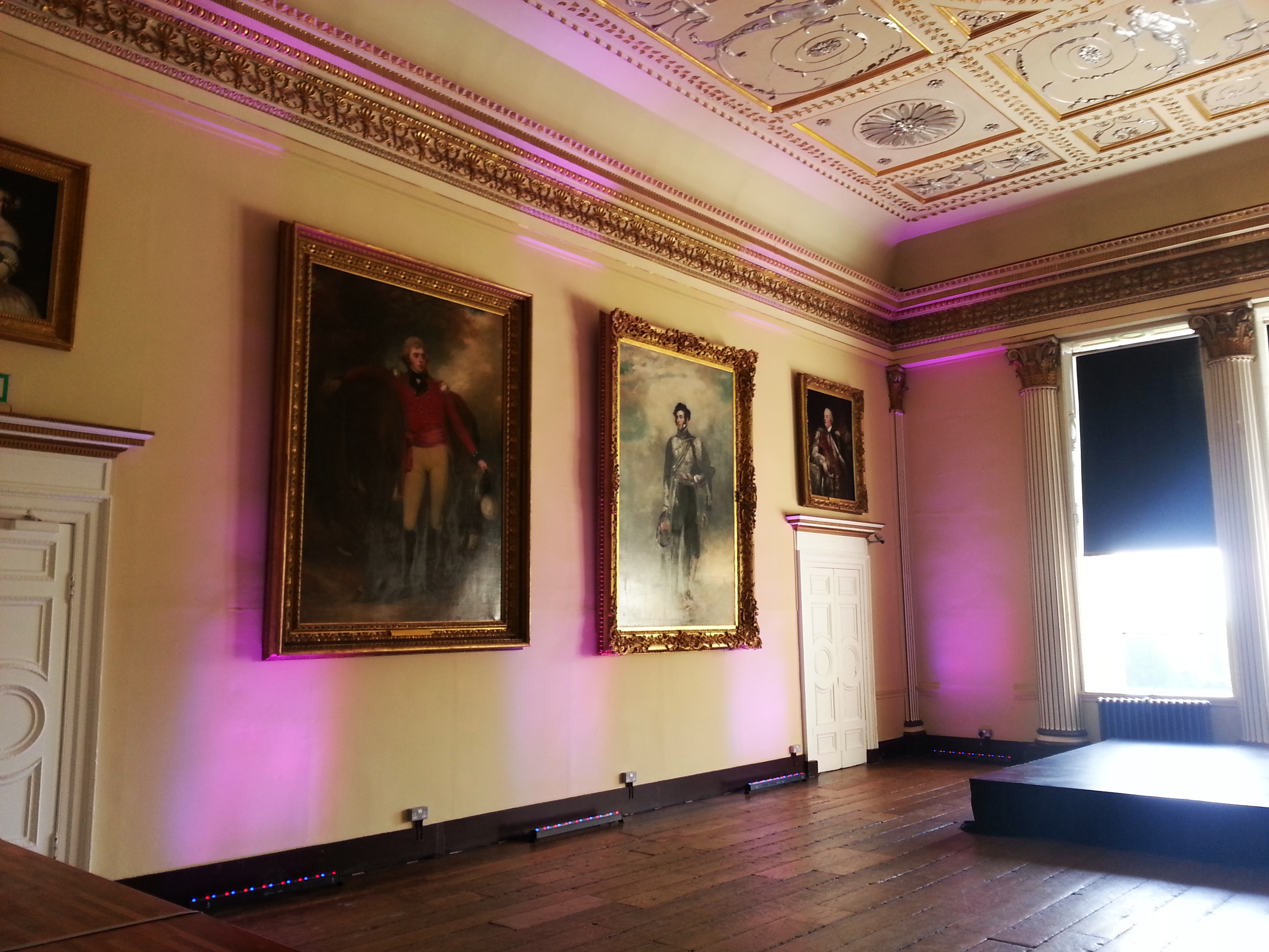 Temple House Room Lighting - Stowe House