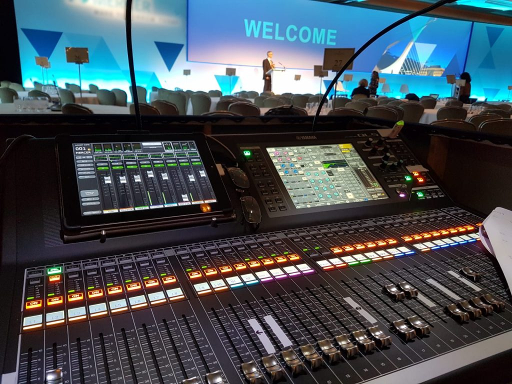Conference Stage & Audio Desk