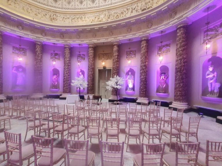 Stowe House - Marble Hall Lighting